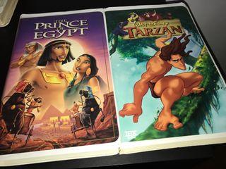 VHS colección antiguo Disney