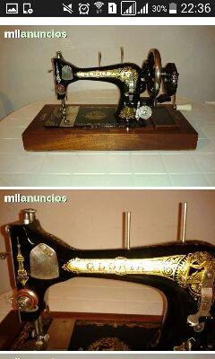 Antigüa Máquina de Coser GLORIA. Cambio o vendo.