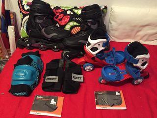 Pack patines línea negociables