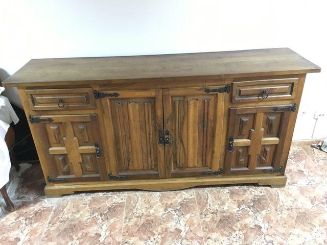 Mueble comedor antiguo XIX de segunda mano por 400 € en Santa Coloma ...