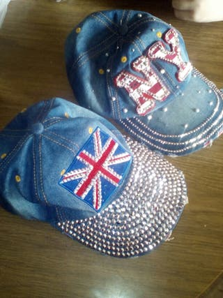 Gorras de london y New york