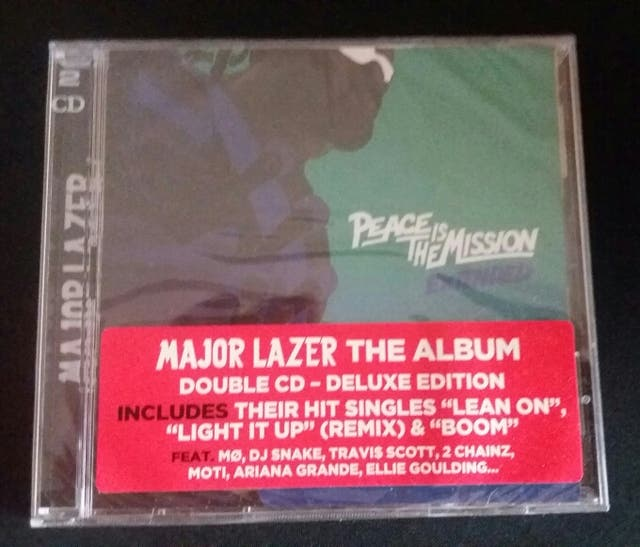 Cd Major lazer peace is the mission extended