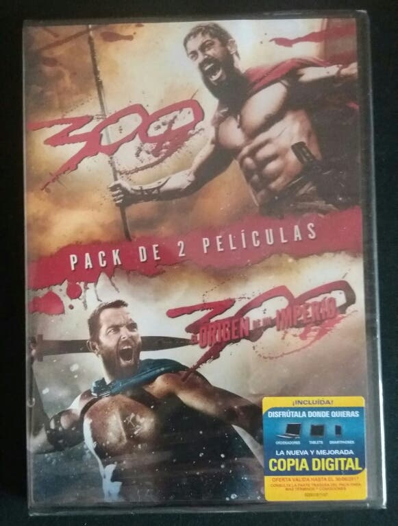 Dvd Nuevo. Peliculas 300. 2 peliculas