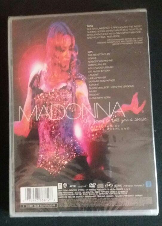 Dvd cd Madonna nuevo
