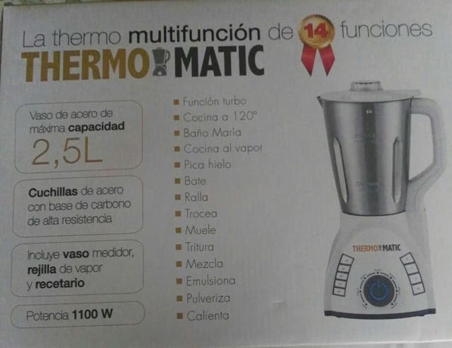 Robot Thermomatic nuevo