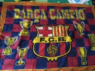 Bandera FCB. Fútbol club Barcelona