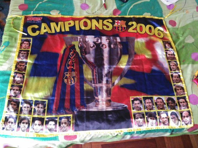 FCB BARÇA CAMPIONS 2006