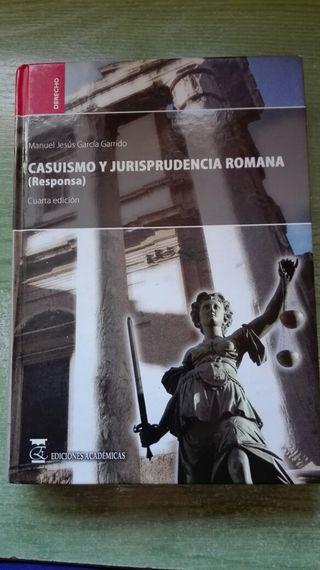 Libro casuismo y jurisprudencia romana