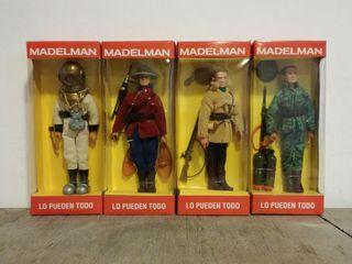 4 Madelman de Altaya.