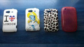 4 fundas HTC Desire S