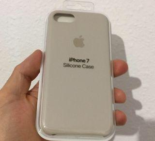 iPhone 7 y 8 Funda Silicone Case ORIGINAL APPLE - Piedra