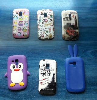 6 fundas Samsung Galaxy Trend/Trend Plus