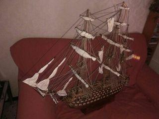 Maqueta barco Santísima Trinidad