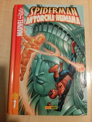 SPIDERMAN MARVEL STYLE N.1. PANINI COMICS