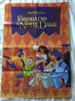Póster gigante de El jorobado de Notredame, Disney