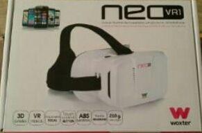 Gafas realidad virtual - Woxter Neo VR1, blancas