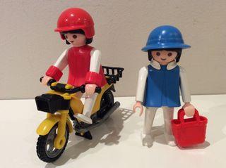 MUJERES CON MOTO PLAYMOBIL Ref. 3302