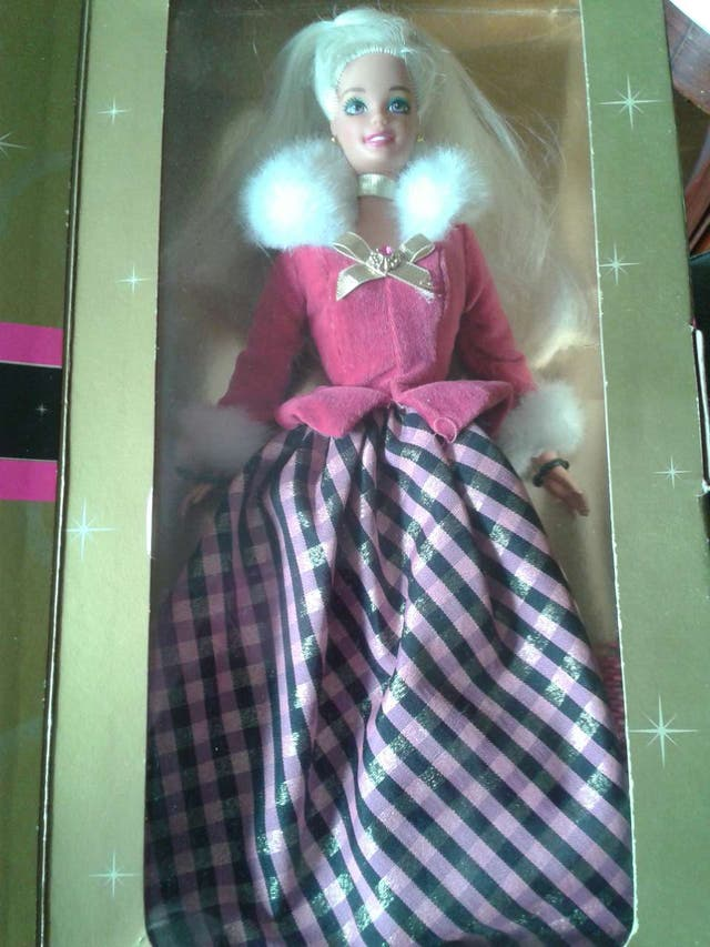 Barbie Winter Rhapsody con caja