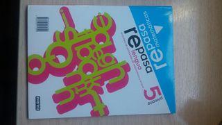 Libro Repasa lengua y matemáticas 5° primaria