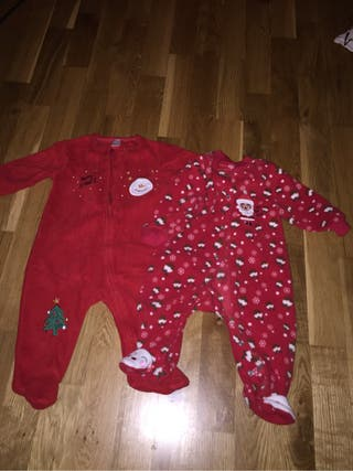 Pijamas navidad bebé 3-6 meses