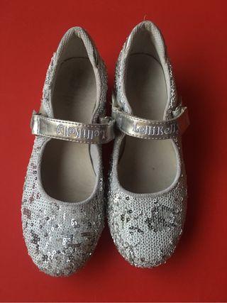 2 pares zapatos (flamenco y LelliKelly) t33