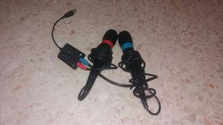 Micrófonos ps2