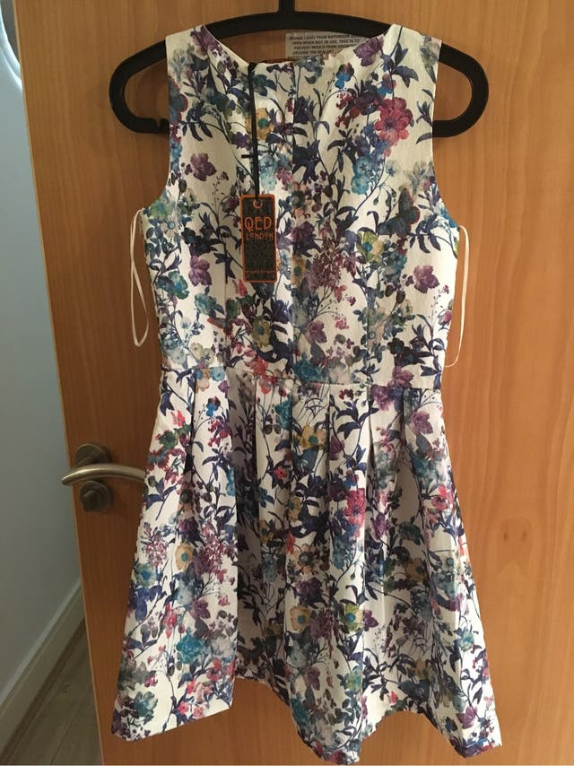 QED London Floral Skater Dress