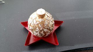 Velas decoración navideña