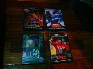 4 Juegos Sega Megadrive