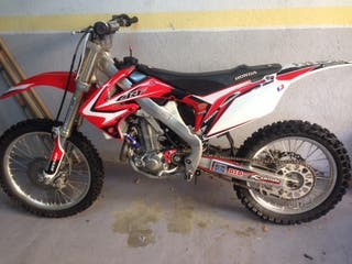 Honda crf450r cross