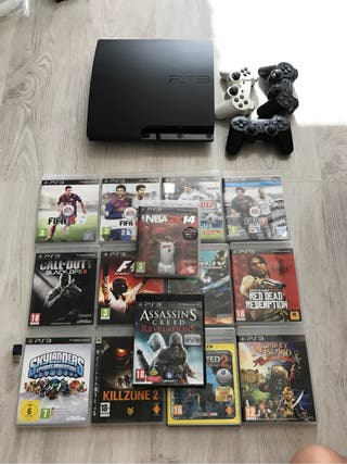 Play station ps3 SLIM 320gigas