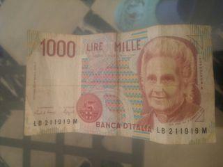 1000 lire..más buscado 3de octubre 1999