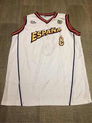 Camiseta España Baloncesto Match Worn