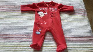 Pijama invierno nuevo talla 3 meses
