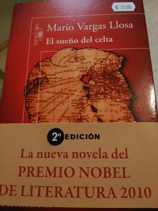 """Libro """" El sueño del celta"""""""