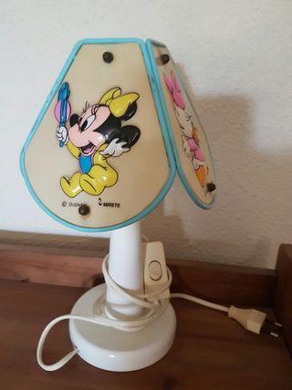 Lámpara mesita Disney vintage