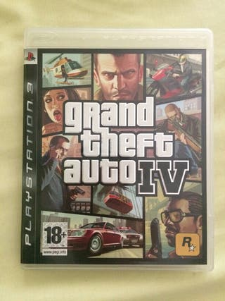 Gran theft auto IV PS3