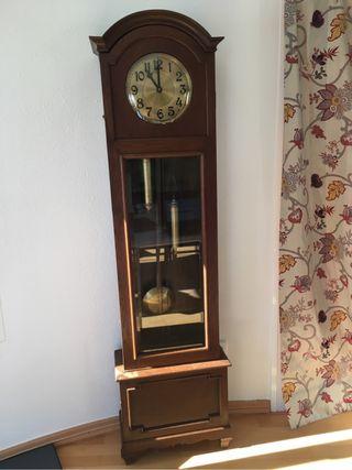 Reloj mueble de pie finales de siglo 19