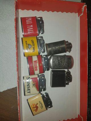 Lote de mecheros publicidad tabaco