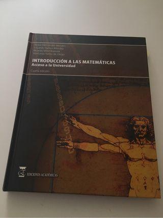 UNED.Introducción a las matemáticas.