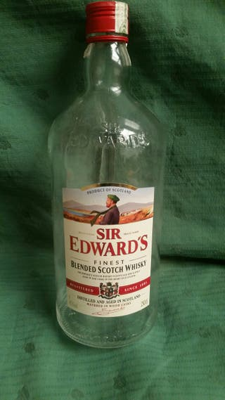 Botellón whisky sir edward´s 2,5