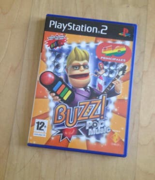 Juego Buzz pop music ps2