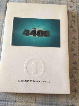 DVD Los 4400.