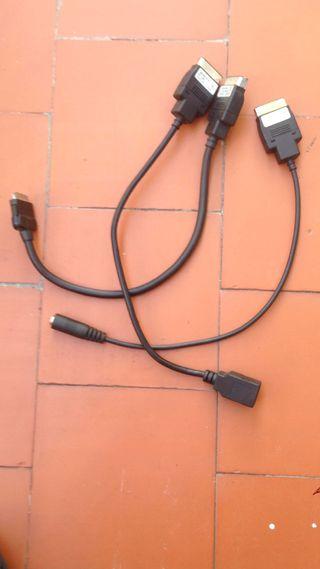 Mercedes cables ipod/usb/audio