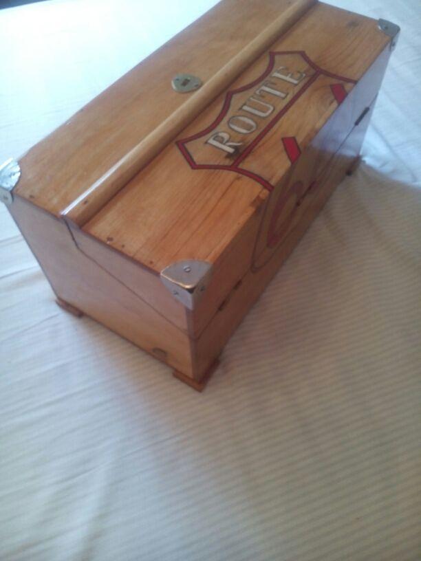 Caja Madera Replica Antiguas Herramientas