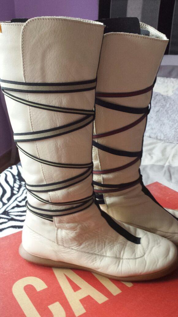 Botas de piel Camper talla 38 vintage!!!