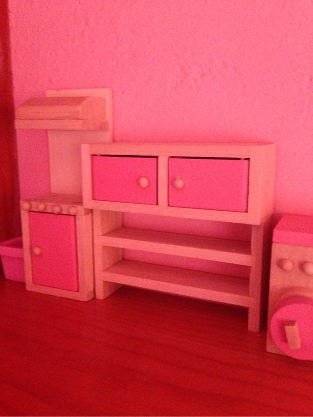Cocina casita muñecas