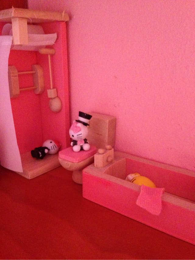 Baño casa muñecas