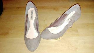 Zapatos tacón nude un uso