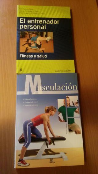 Libros Musculación y El entrenador personal